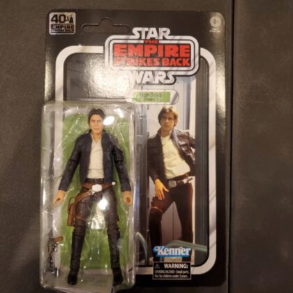 Kenner Star Wars Empire Strikes Back 40th Han Solo