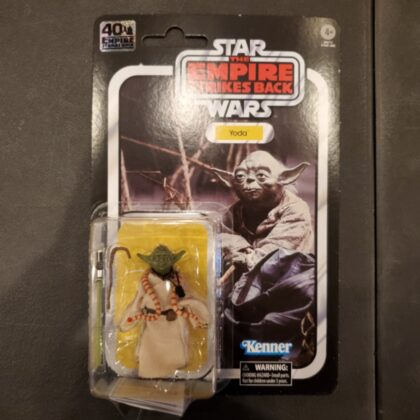 Kenner Star Wars Empire Strikes Back 40th Yoda