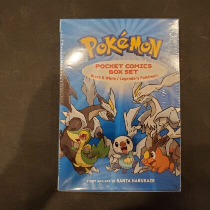 Pokemon Pocket Comics Box Set Black&White/ Legendary Pokemon